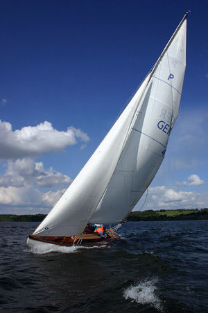 yachting on a sailing yacht